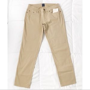Tan khaki pants